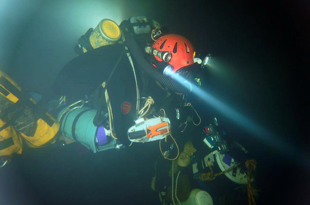 Expedition diver Jason Mallinson describes a record-setting dive into the Western Hemisphere's deepest caves, using the Classic KISS rebreather.