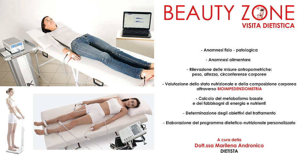 Visita Dietistica Beauty Zone Acireale