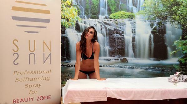 Centro Estetico Beauty Zone Acireale abbronzatura dha sunsun, martina escher