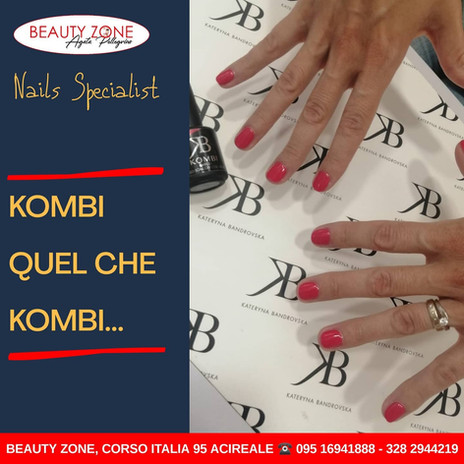 KOMBI Nails semipermanente e gel