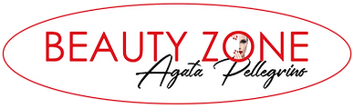 Logo Beauty Zone Testo Agata Pellegrino