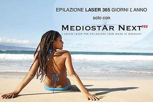 Mediostar Next Pro Laser Diodo da Beauty Zone Acireale