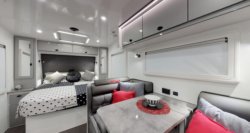 Eden Caravans - Trackvan XT 19