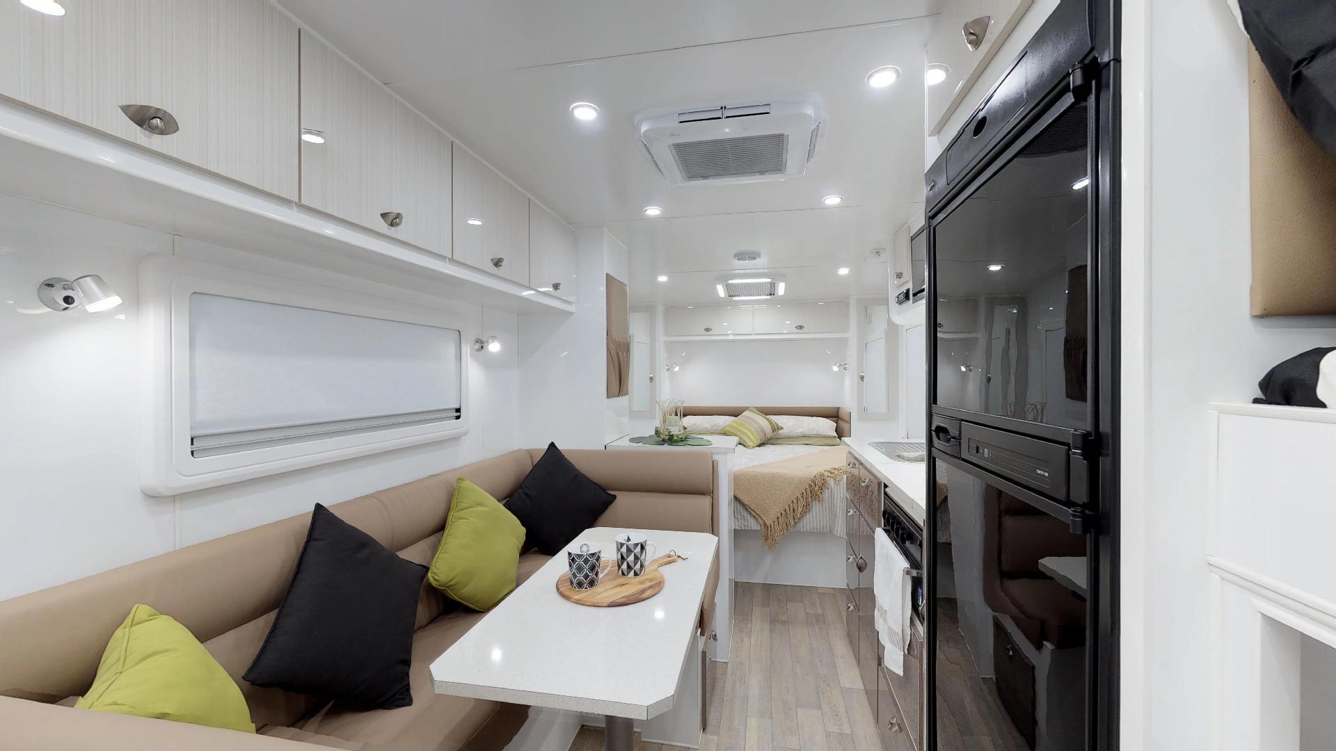 Eden Caravans Explorer 21ft bunk