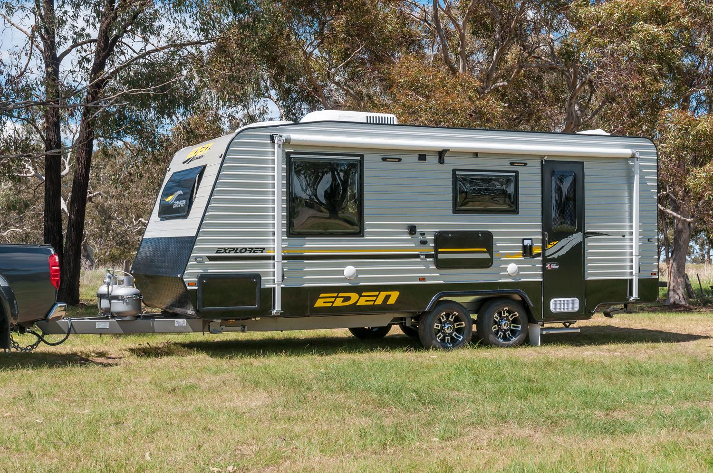 Explorer On Road Australia Eden Caravans