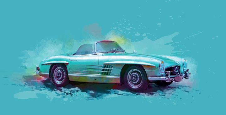 Mercedes 300 SL art