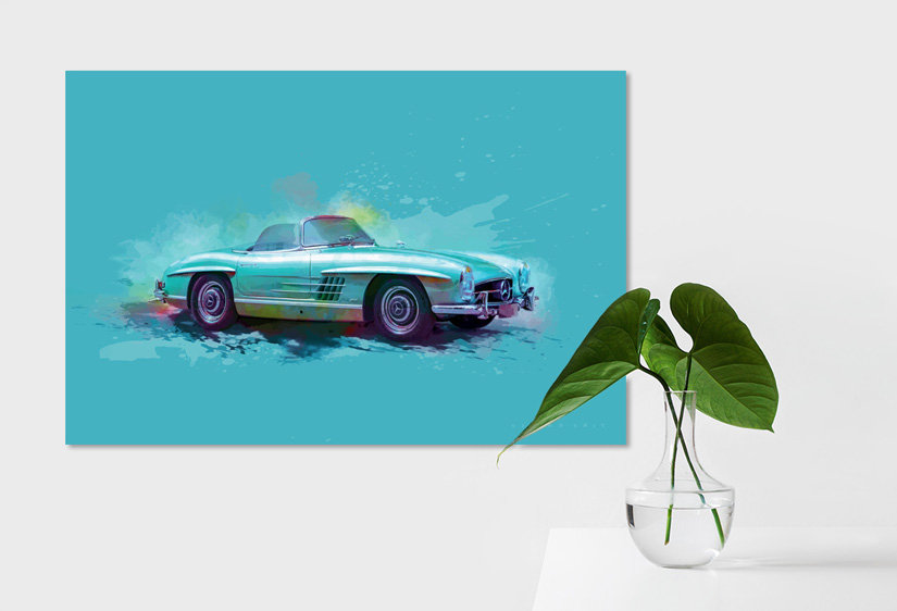Mercedes 300 SL art