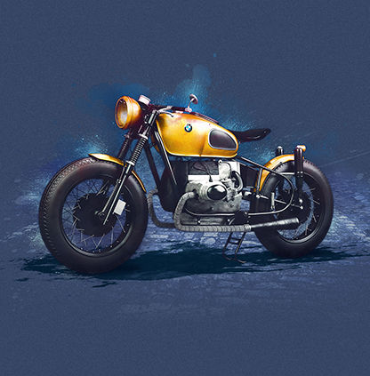 BMW-Caferacer