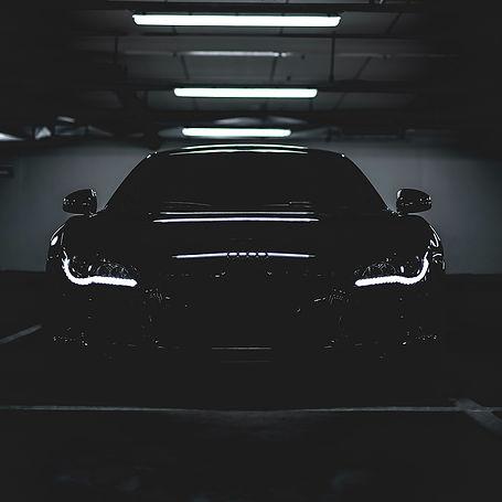 Car in Low Lighting
