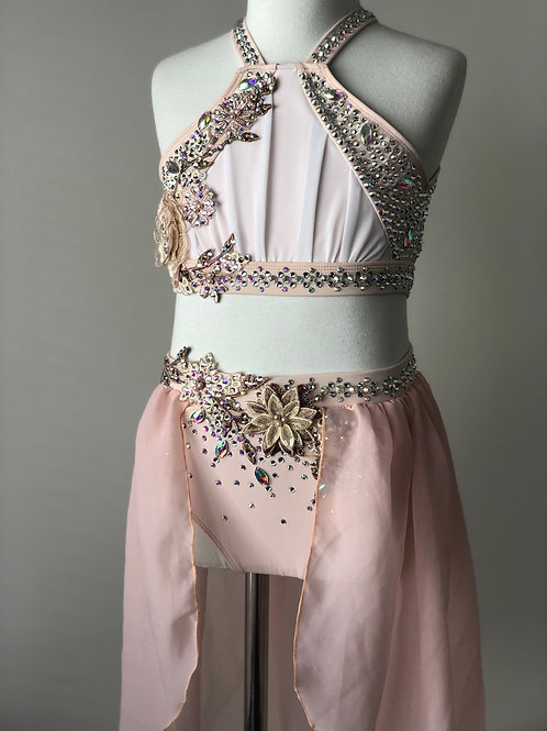 Stunning pale dusty pink and white lyrical