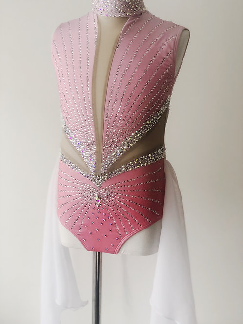 Incredible blinged out lyrical- pink ombré