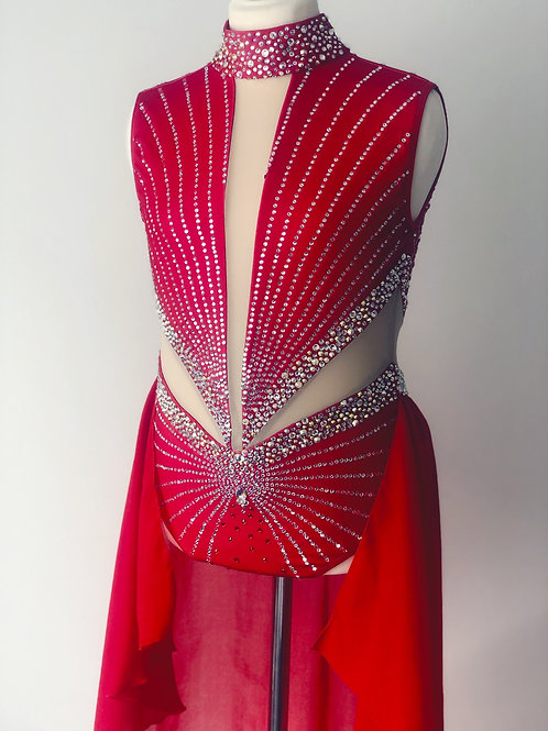 Incredible blinged out lyrical- red