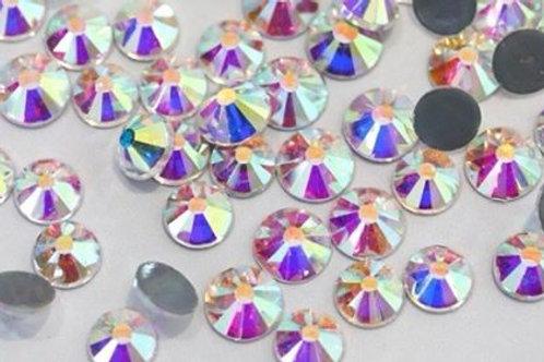 Ab + Crystal Rhinestones