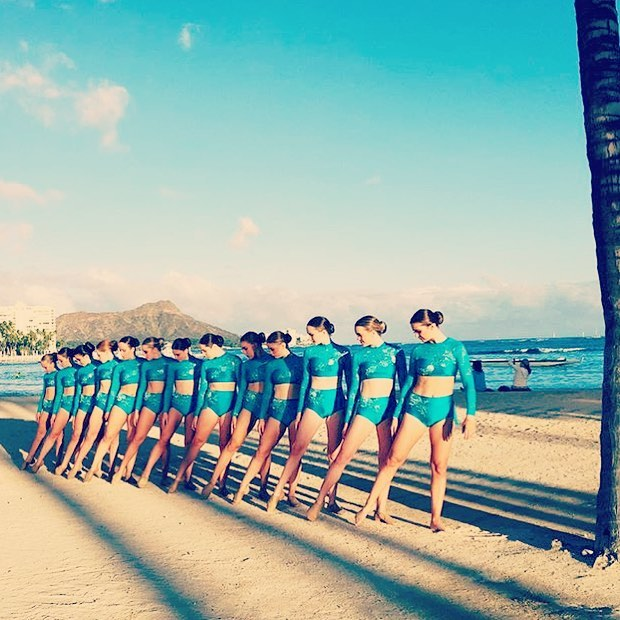 MCPD dance and cheer- Hawaii 2016