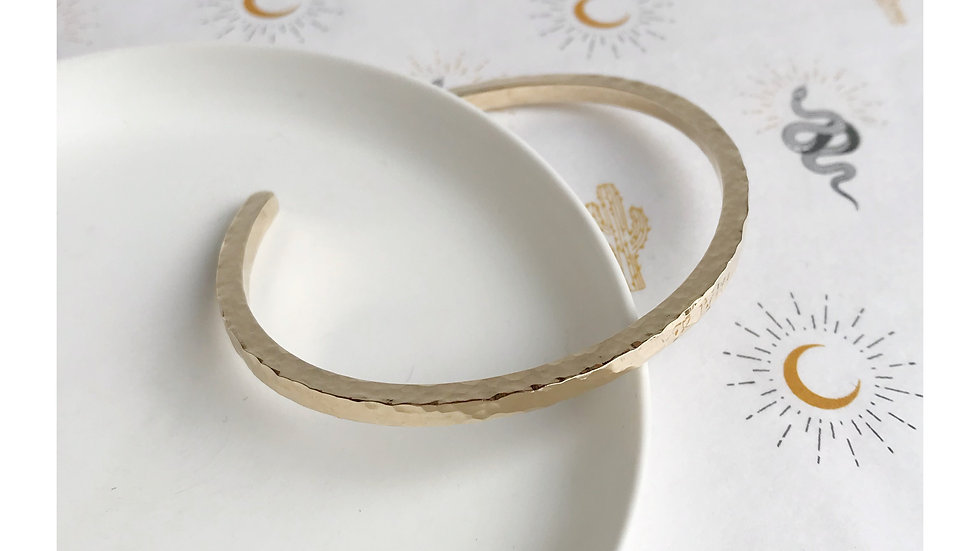 THIRTY BANGLE GOLD