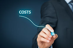 Costs reduction, costs cut, costs optimi