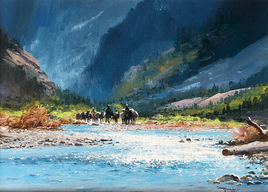CROSSING-THE-CREEK---Acry-Canvas---9X12-