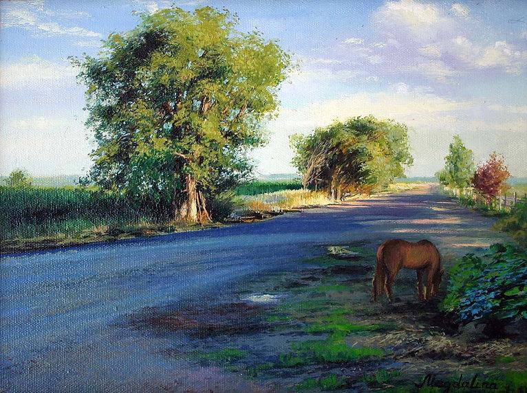 Tamara-Magdalina-Warm-evening-oil-canvas