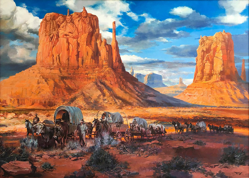 Indian Nation way to the West