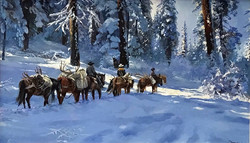 Hunting in Heavy Snow