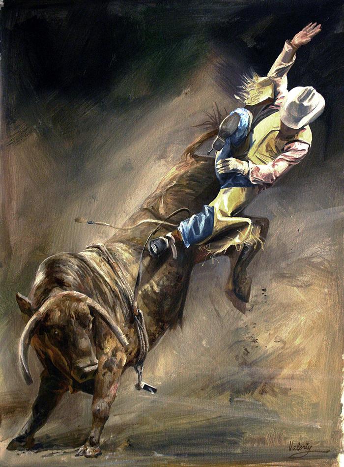 Cowboy Loose Rope