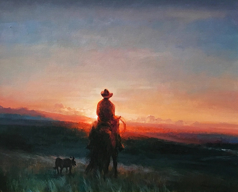 valeriy kagounkin original art валерий кагунькин tamara magdalina тамара магдалина western art paintings wind from home