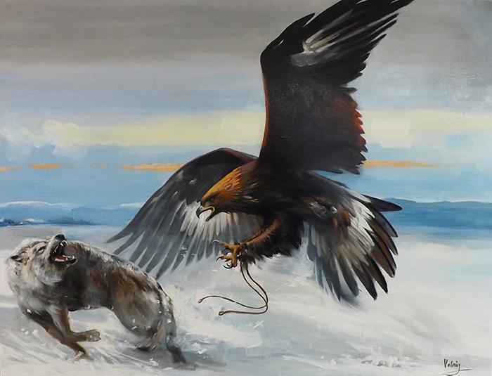 Eagle Hunting Siberia