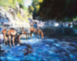Kagal_Forest Hills, CA, Cold Drink_Acryl