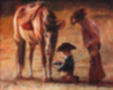 valeriy kagounkin original art валерий кагунькин tamara magdalina тамара магдалина western art paintings patience