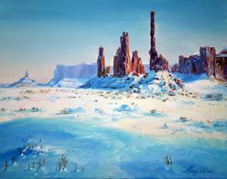Winter in Navajoe Land