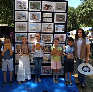 Junior duck stamp competition, magdalina art studio, art school