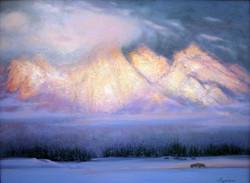 Sunset Grand Teton