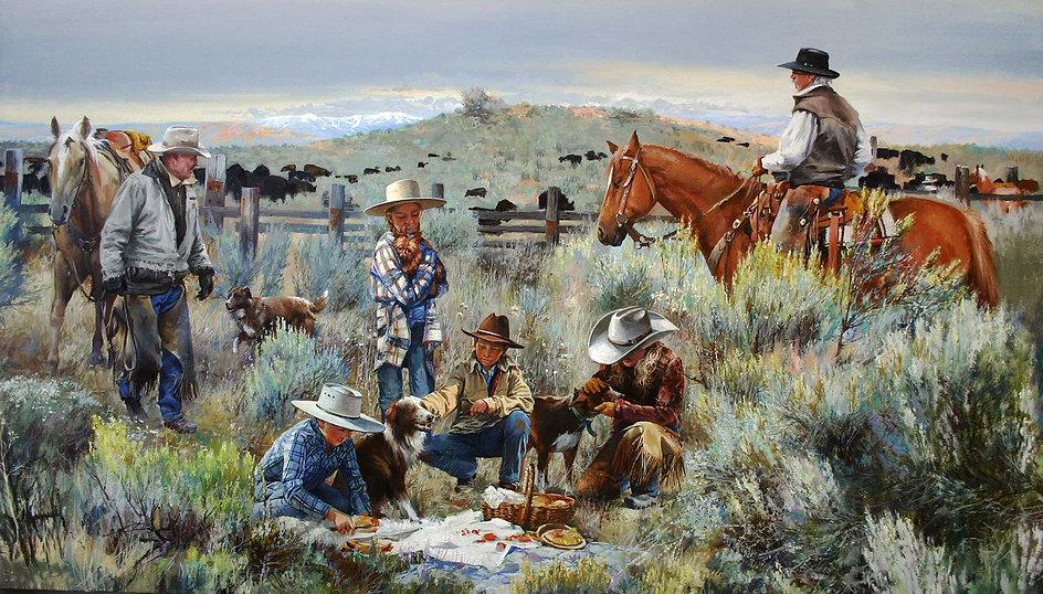 Best cowboys Idaho Lazy T-2 ranch