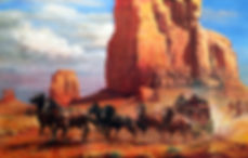 valeriy kagounkin original art валерий кагунькин tamara magdalina тамара магдалина western art paintings nowhere to hide