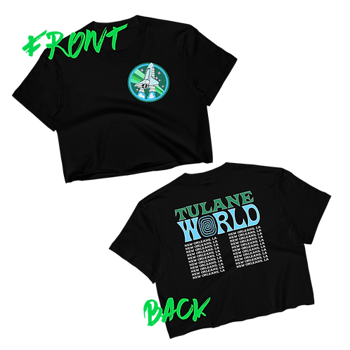 out of this world tee (front & back)