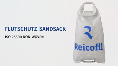 Flutschutz-Sandsack ISO 26800 NON-WOVEN