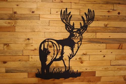 Large Deer Silhouette