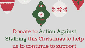 Donate to AAS this Christmas and help us to continue to help victims of stalking