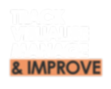 Track Visualise Manage Improve (Dark Bac