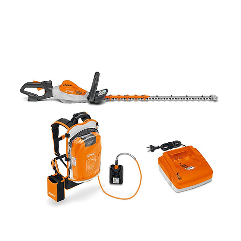 Professional Hedgetrimmer (with Back Pack battery and charger)