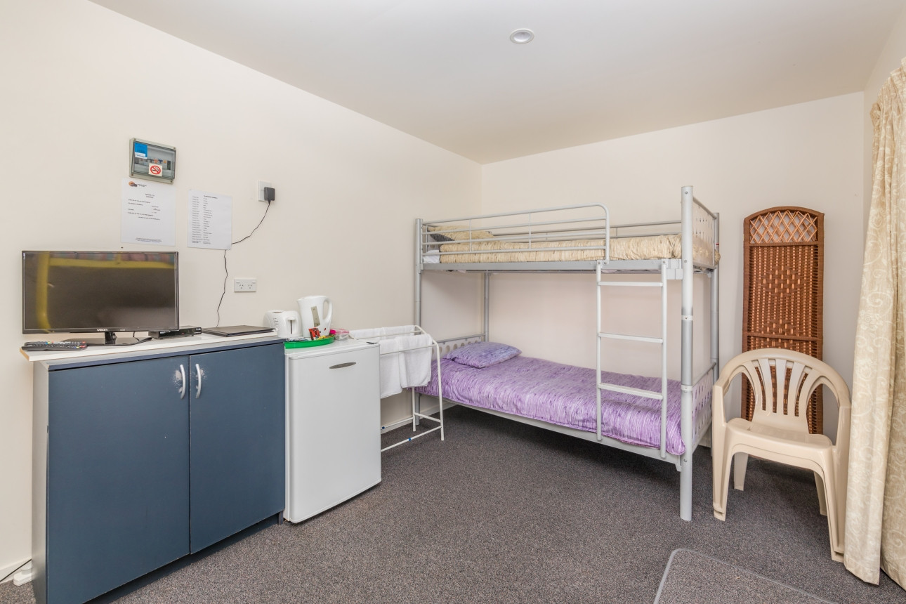 Bunk Beds and Kitchen