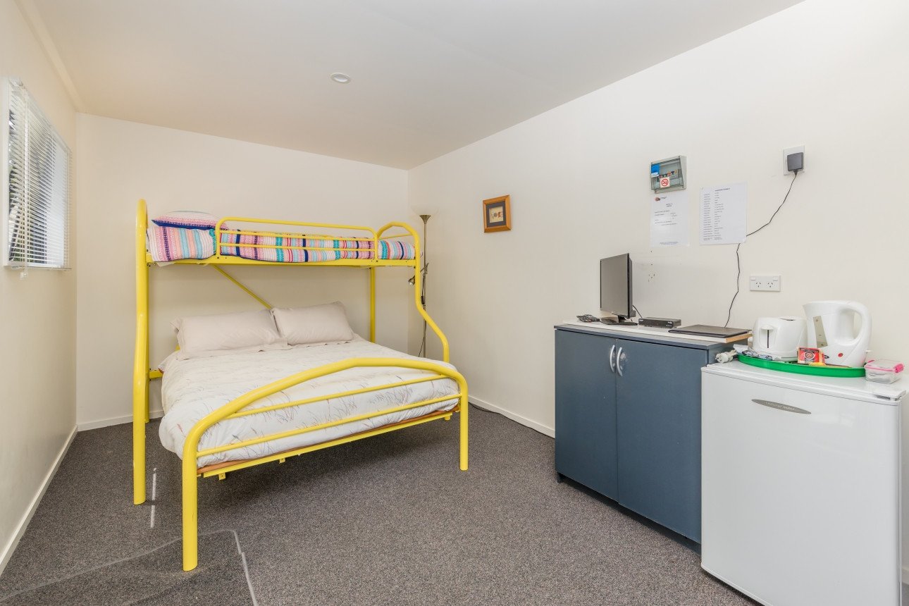 Double Bed and Bunk