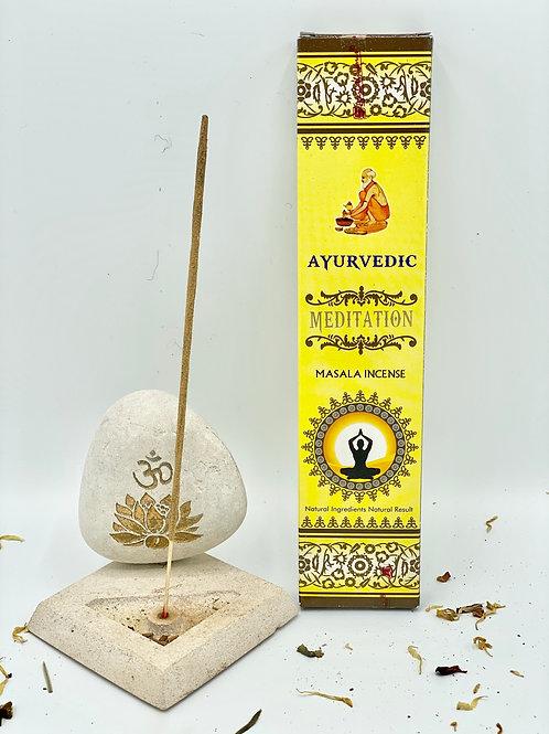 "Encens ayurvédique ""Méditation"""