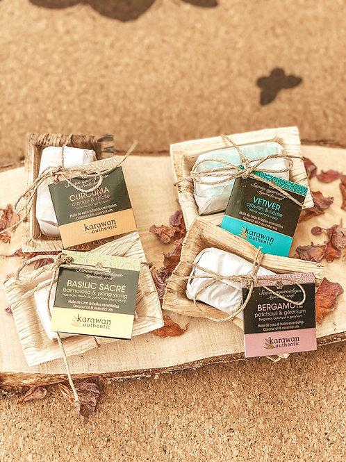 4 mini-savons Ayurvédiques