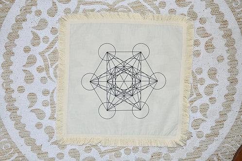"Tissu ""cube de Métatron"""