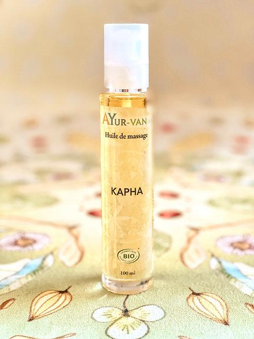 Huile de massage Kapha