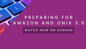 Preparing for Amazon and ONIX 3.0