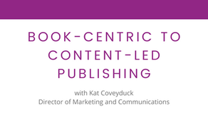 How Publishers are Transitioning from Book-centric to Content-led Publishing