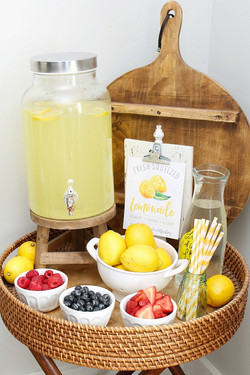 Kids Lemonade Bar