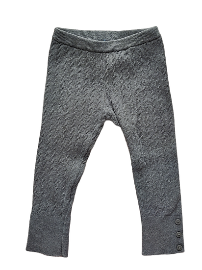 Mayoral Grey Knit Leggings